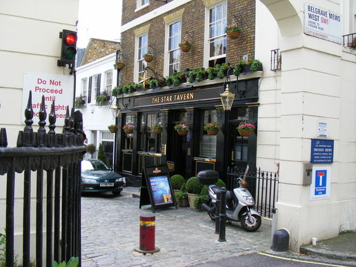 The classic Star Tavern, where allegedly the Great Train Robbery was planned